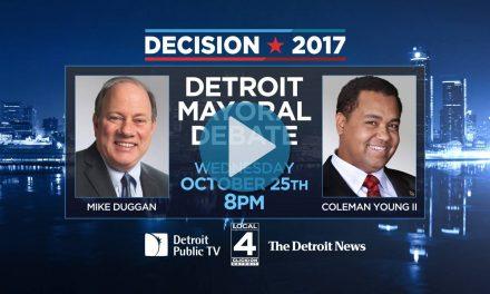 Decision 2017: Detroit Mayoral Debate