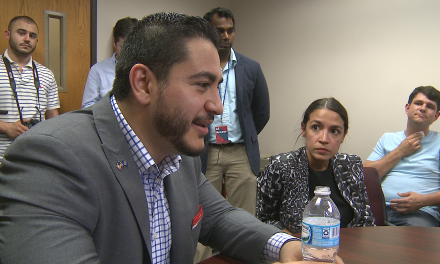 Abdul El-Sayed's gubernatorial campaign goes national