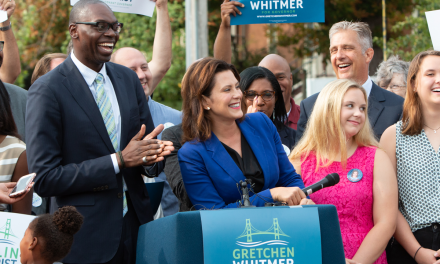 The Detroit Journalism Cooperative Interviews Gretchen Whitmer