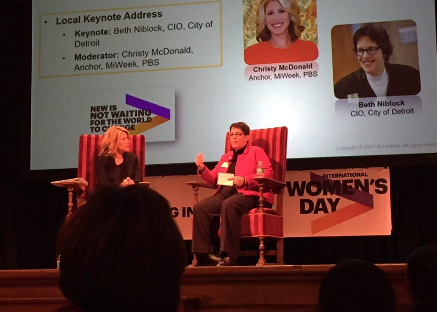 Behind the Interview   Christy McDonald talks with City of Detroit CIO, Beth Niblock