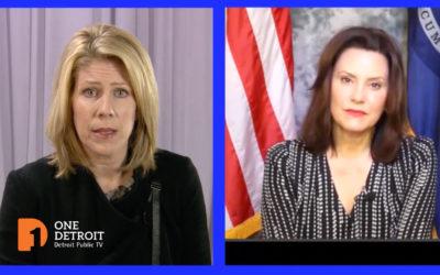Gov. Whitmer talks with Christy McDonald on the Coronavirus crisis