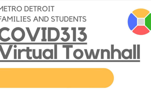 WATCH: COVID313 Community Coalition Virtual Town Hall Live