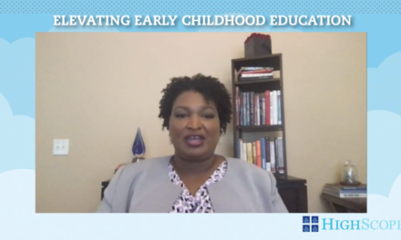HighScope & Stacey Abrams: Elevating Early Childhood Education