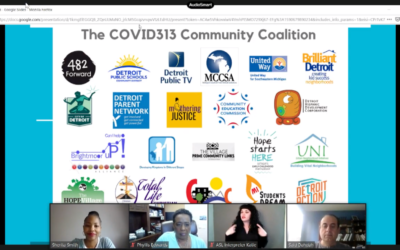 COVID-313 Community Coalition Virtual Town Hall Week 10