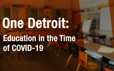 WATCH: One Detroit Special: Education in the Time of COVID-19