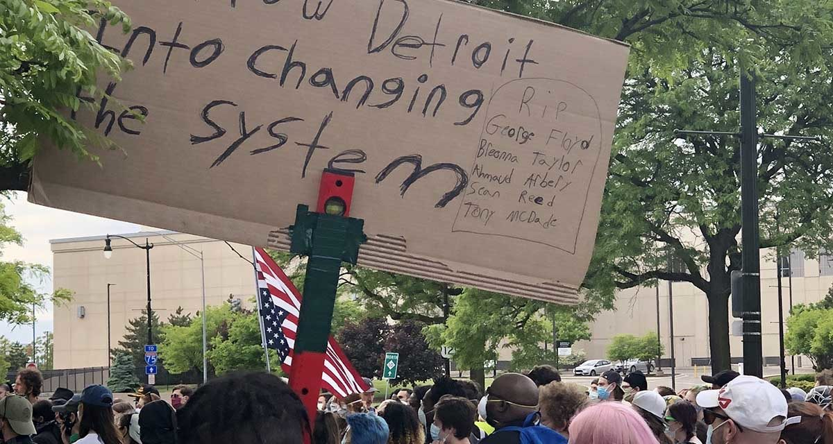 Protests continue in Detroit more than a week after George Floyd's death