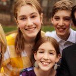 Christy McDonald, Jamie Sameulsen and kids