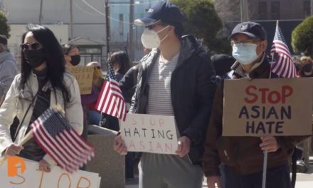 Asian Americans Rally