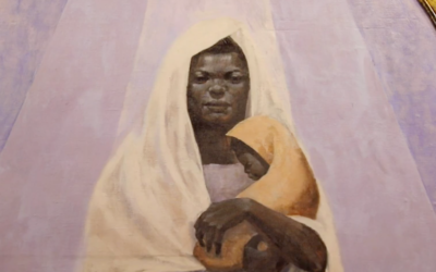 Portrait of the Black Madonna