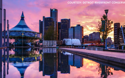 Detroit Riverwalk: Best in the Country