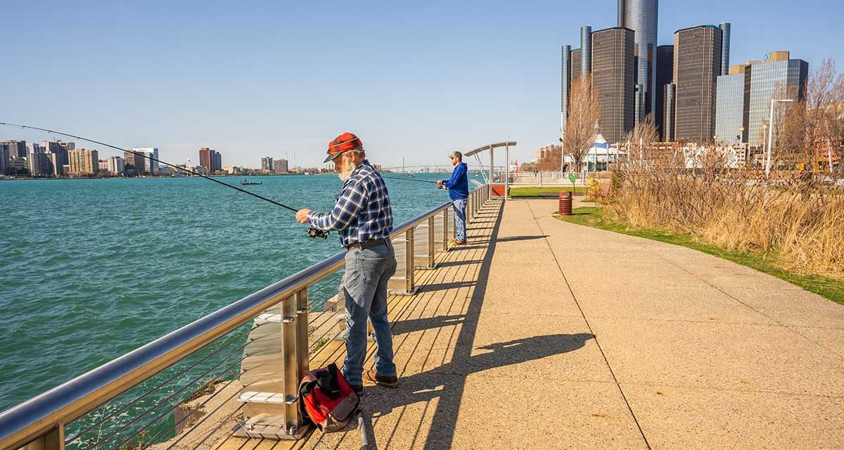 Bridge Detroit | The state of the Detroit riverfront in 2021