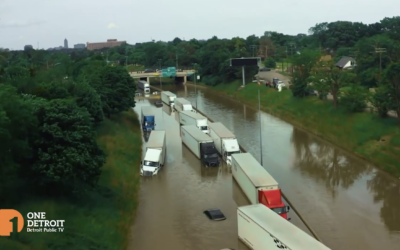 7/15/21: One Detroit – Flood Aftermath / Business Divide / Carl Levin Memoir