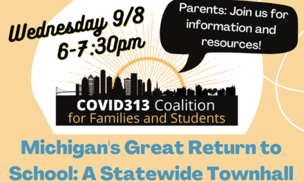 Michigan's Great Return to School: A Statewide Townhall